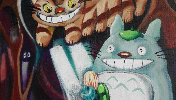 Totoro & Catbus
