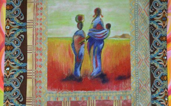 Art Quilt – African