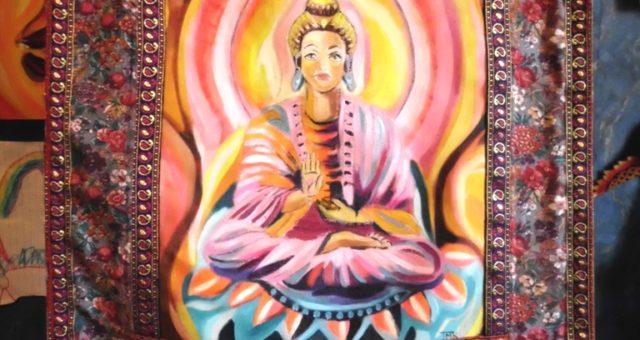 Buddha Art Quilt