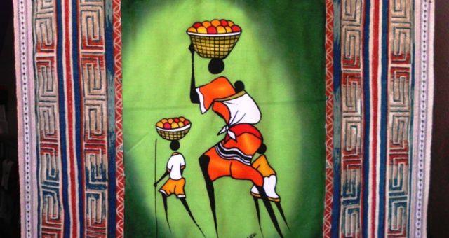 Art Quilt – Batik