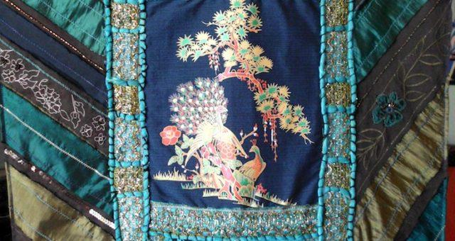 Peacock Art Quilt