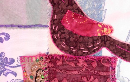 Art Quilt – Birds