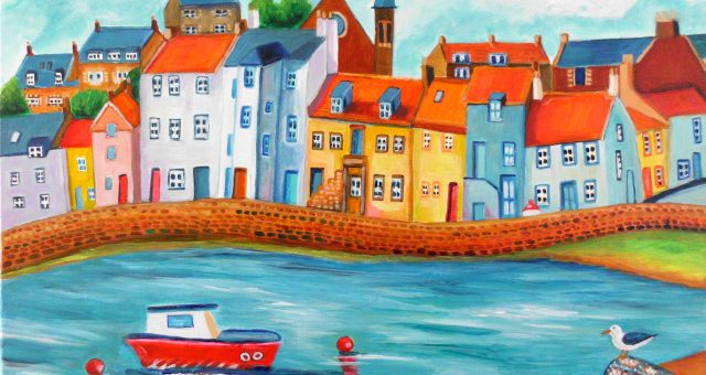 St. Monans – Series of Colourist Paintings